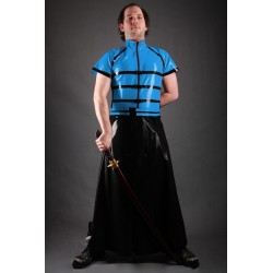 "Latex Herrenshirt ""BOUND"""