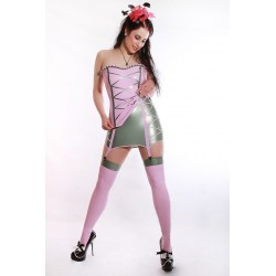 "Latex Damenoutfit  Set ""CANDY GIRL"""