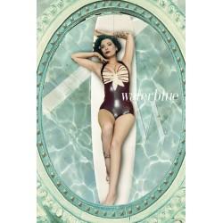 "Latex Swimsuit  ""Marilyn"""