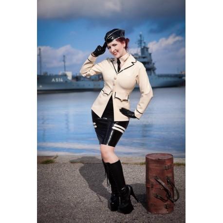 "3-teilige Navy Latex Uniform ""Baltic"""