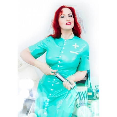 "Latex Medicaldress ""Lady Doctor"""