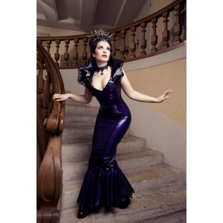 "Latex Kleid ""Queen of Night"""
