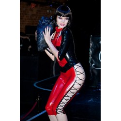 "Latex Leggings ""Strings and Skin"""