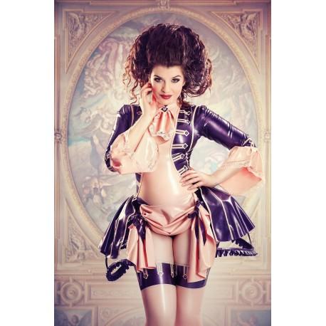 """4-teiliges Latex Kostüm """"Antoinette"""""""