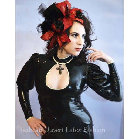 "Latex Bluse ""Mistress"""
